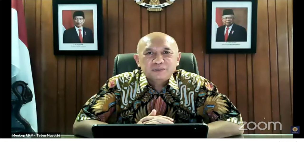 Tingkatkan Jumlah Wirausaha di Indonesia, MenkopUKM Sasar Milenial