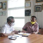 Temui Bupati Luwu Timur, MTI Kenalkan Aplikasi Pangoje