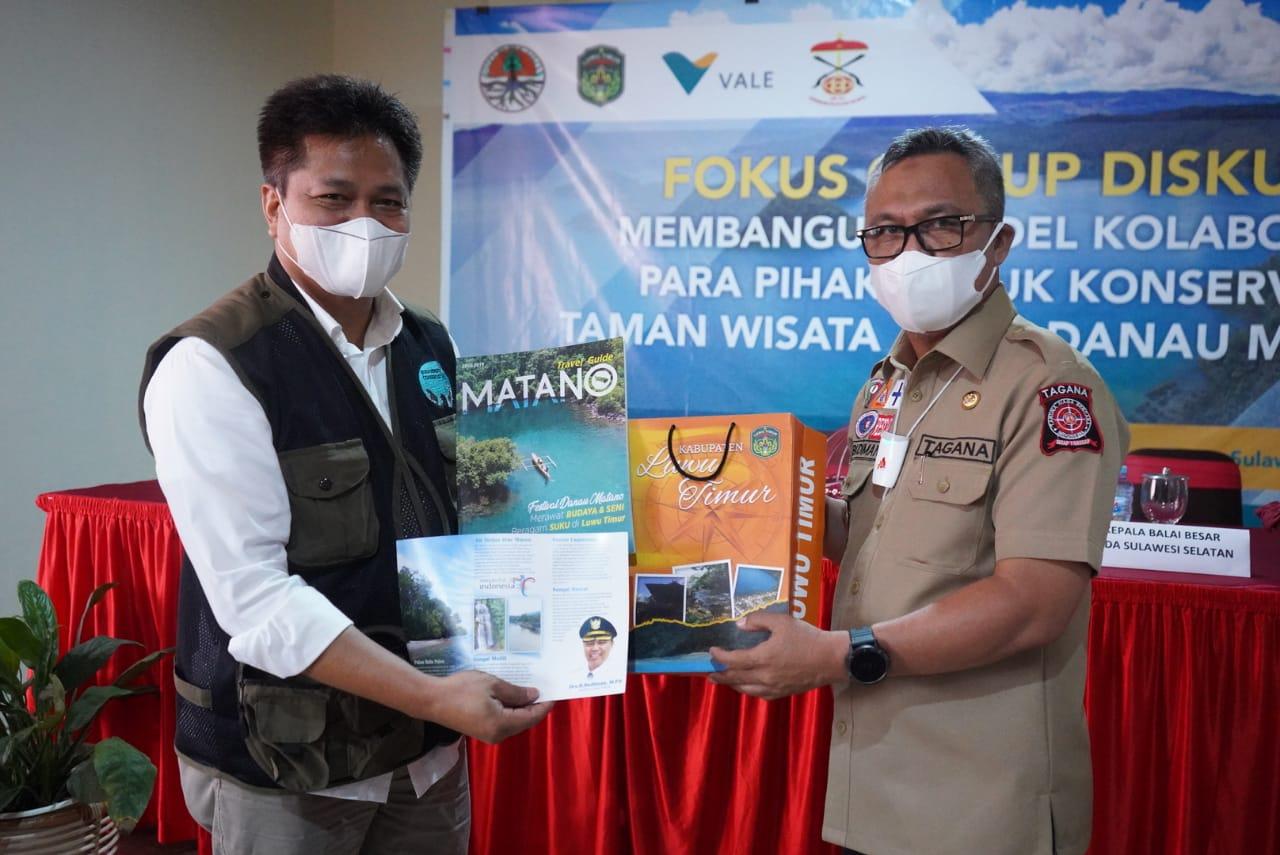 Bupati Lutim Harapkan Sinergitas Lintas Sektor Optimalkan TWA Danau Matano