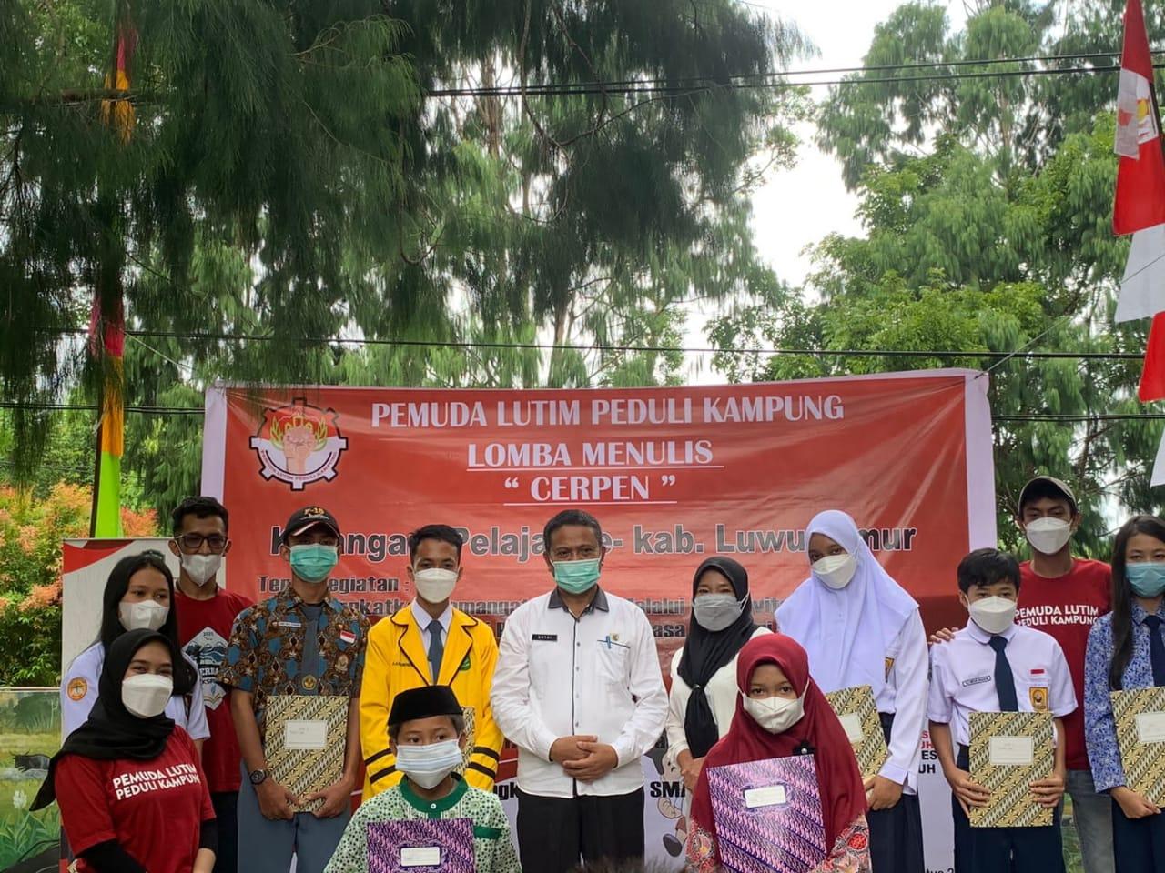 Gelar Lomba Menulis, Kadis Perpus Lutim Apresiasi Pemuda Lutim Peduli Kampung
