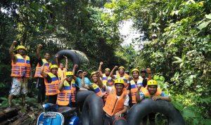 Pengunjung Arung Jeram Balambano Membludak, Mujur Terimakasih Tim Charlie Mining PTVale