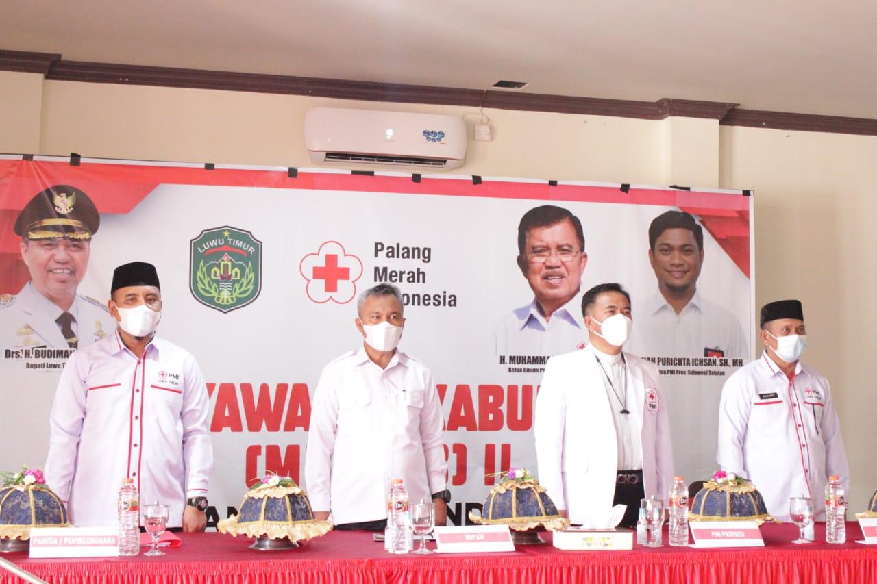 Bupati Luwu Timur Dukung Pembangunan Markas PMI